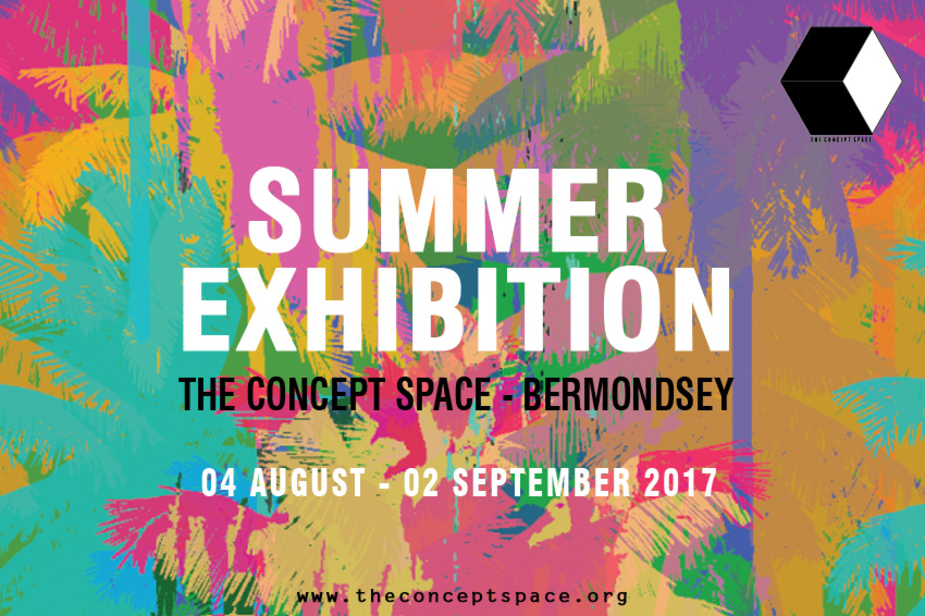Invitation Summer Exhibition in The Concept Space
